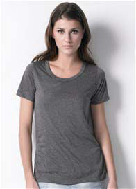 Queen Bee Classic Nursing Tee in Charcoal by Dote Nursingwear