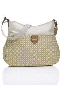 Storksak - Nina Baby Bag in Tan Print