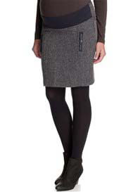 Queen Bee Tweed Maternity Skirt by Esprit