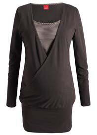 Queen Bee Coffee Maternity Tunic by Esprit