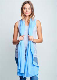 Maternal America - Nursing Scarf in Sky Blue
