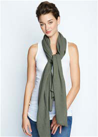 Queen Bee Nursing Scarf in Olive by Maternal America