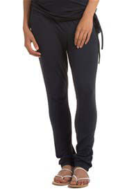 Queen Bee Cinder Blue Stretch Jersey Maternity Pants by Esprit