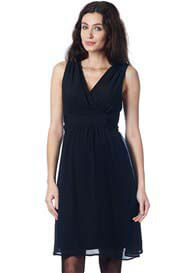 Queen Bee Liane Maternity Cocktail Dress in Black by Noppies