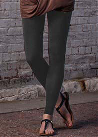 Queen Bee Maternity Gradient Compression Leggings in Coal Grey by Preggers