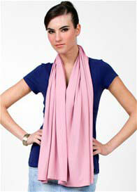 Queen Bee Compact Nursing Shawl in Pink by Dote Nursingwear
