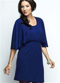 Milky Way - Bell Sleeved Nursing Tunic in Blue