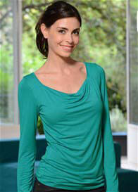 Queen Bee Milkizzy Prisca Breastfeeding Top in Emerald Green by Pomkin