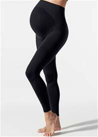 Queen Bee Belly Lift & Support Maternity Leggings in Black by Blanqi