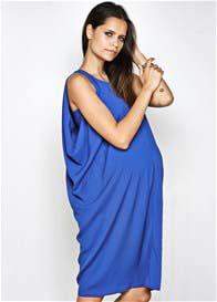 Queen Bee Zoe Maternity Dress in Blue by Imanimo