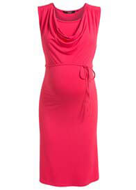 Queen Bee Dimphey Sleeveless Maternity/Nursing Dress in Pink by Noppies