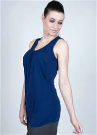 Queen Bee Reliable Nursing Tank Top in Navy by Milky Way