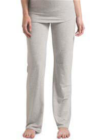 Queen Bee Ninette Jersey Maternity Pants in  Light Grey by Noppies
