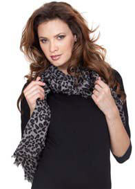 Queen Bee Leopard Print Scarf by Seraphine