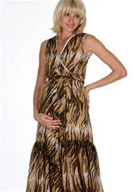 LIL Designs - Tigress Ruffle Wrap Dress - ON SALE