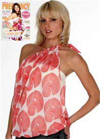 LIL Designs - 8 Way Maternity Top in Tamiko Print