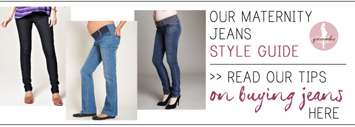 maternity jeans size guide