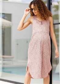 Bae - Under The Sun Nursing Midi Dress