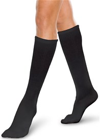 Core-Spun Light Compression Ribbed Socks
