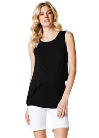 Esprit - Asymmetric Layer Nursing Top