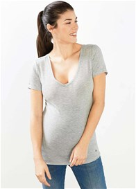 Esprit - Double V-Neck T-Shirt