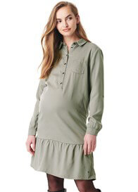 Esprit - Flounce Hem Shirt Dress