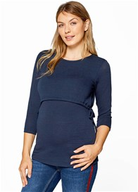 Esprit - Layered Drawstring Nursing Top - ON SALE