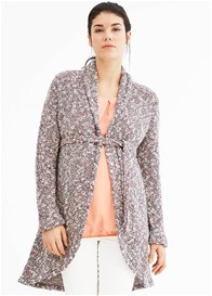 Esprit - Natural Melange Knit Cardigan - ON SALE