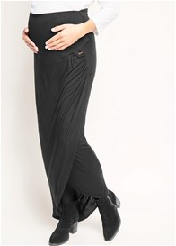 Esprit - Over Bump Faux Wrap Maxi Skirt - ON SALE