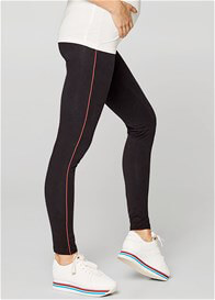 Esprit - Sporty Piped Leggings in Black