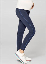 Esprit - Sporty Piped Leggings in Night Blue