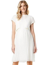 Esprit - Pleated Chiffon Nursing Dress