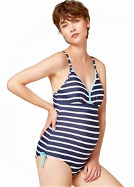 Esprit - Striped One Piece Swimsuit