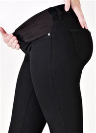 Queen Bee Reina Black Super Skinny Maternity Jeans by Mavi