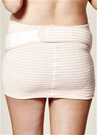 Queen Bee Pink Striped Extra Support Belly Band by QueenBee