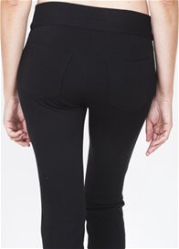 Queen Bee San Francisco Black Straight Leg Pants by Slacks & Co