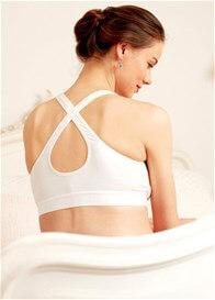 Queen Bee Second Skin Organic Cotton Maternity Bra by Amoralia