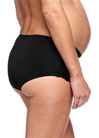 Queen Bee Pure Maternity Underwear Short in Black by Esprit
