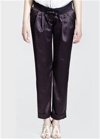 Queen Bee Venice Evening Maternity Trousers in Black by Slacks & Co