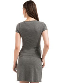 Queen Bee Marni Maternity Nursing Dress in Grey by Noppies