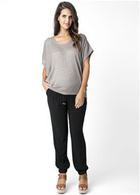 Queen Bee Black Fluid Maternity Pants by Ripe Maternity