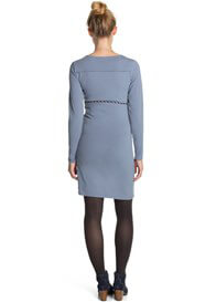 Queen Bee Long Sleeve Maternity/Nursing Dress in Stonegrey by Esprit