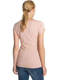 Queen Bee You Are Magic Maternity Tee in Rose Pink by Esprit