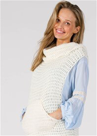 Queen Bee Wishbone Maternity Nursing Knit Vest by Fillyboo