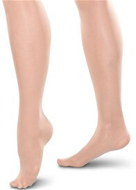 Queen Bee Gradient Compression Maternity Pantyhose in Nude by Preggers