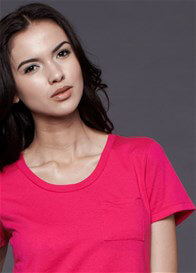 Queen Bee Pocket Nursing Tee in Fuchsia by Dote Nursingwear