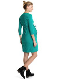Queen Bee Crystal Green Maternity Dress by Esprit