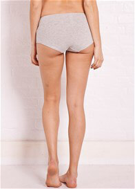 Queen Bee Basic Maternity Underwear Shorts in Grey by Noppies