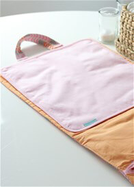 Queen Bee Baby Change Bundle Bag in Pink Agave Kiss by Bella Buttercup