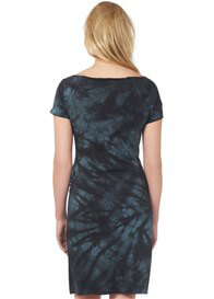 Queen Bee Fame Tie Dye Maternity Dress by Supermom